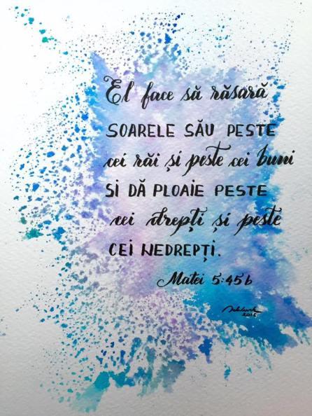 tablou verset